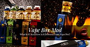 Vape Box Mod: What Is It And How Is It Different From Vape Pen