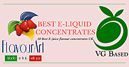 10 Best E-juice And E-liquid Flavour Concentrate Brands In The UK