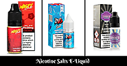 8 Best Nicotine Salts E-Liquid Brands You Must Buy Right Now