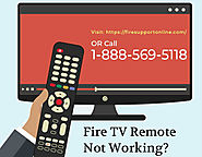 Get Solutions For Fire Stick Remote Won't Work | Troubleshooting