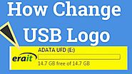 How To Change Usb Logo or Pendrive Icon। EraIT