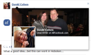 Facebook Timeline Users See More Information When Hovering Over User, Page Names - AllFacebook