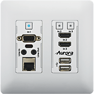 HDBaseT Extenders and Wall Plates | Aurora Multimedia