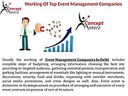 Event Management Companies In Delhi | Corporate Event Management Company