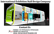 Exhibition Stall Designer in Mumbai | Exhibitionsconcept | Stall Fabricators