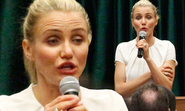 Cameron Diaz, 41, pulls funny faces