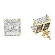 Tips to Purchase Men's Diamond Stud Earrings