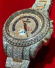 Let Your Personality Shine with a Brilliant Diamond Watch on Your Hand – Itshot Diamond