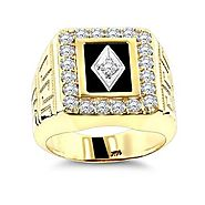 Itshot Reviews on the Latest Designs of Men's Gold Diamond Rings At Surprisingly Affordable Prices