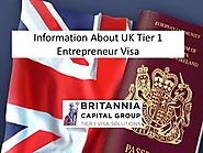 Information about UK Tier 1 Entrepreneur Visa