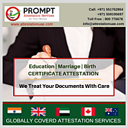 Contact Prompt For Attestation Services