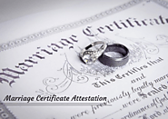 Marriage Certificate Attestation For UAE Visa