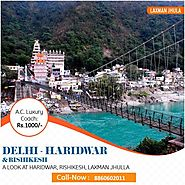 Best Haridwar Rishikesh Tour Package From Delhi