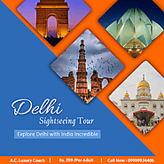 Travel Delhi By Bus And Explore It Now! - MarketPressRelease
