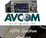 A Spectrum Analyzer Work | Avcom Virginia