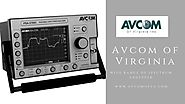 Types, Functioning and Usage of Spectrum Analyzers | AVCOM of Virginia