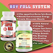 FULL SYSTEM 24 / 7 Lose Weight BODY CLEANSE AND SUPERMAX - Free Shippi – 24 7 Lose Weight