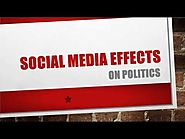Social Media Influence On Politics
