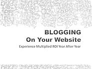 Blogging on Your Website