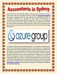 Accountants in sydney