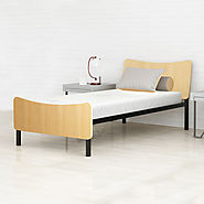 Benne Twin Size Metal Bed | Camabeds