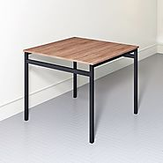 Elegant yet simple multi-functional table for homes and institutions.