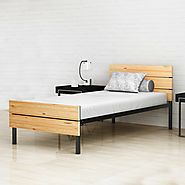 Contemporary and Stylish Metal Bed | Benne