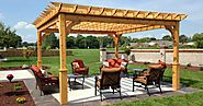 Attractive Column Choices For Your Pergola