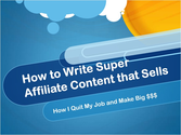 Boost Affiliates' Super Affilliate Program