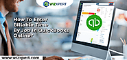 Enter Billable Time By Job In QuickBooks Online Plus And Essentials