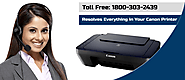 Resolves Everything In Your Canon Scanner Printers Call@1800-303-2439