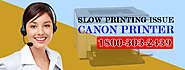 How to Fix Canon Slow Printing Issue and Paper Jam Issue? - Optimum Geek Support