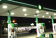 Choose Gas Station Canopy Lights