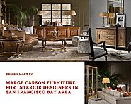 Marge Carson Furniture for Interior Designers in San Francisco Bay Area