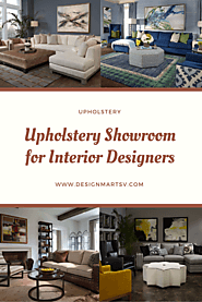 15,000 Square Feet Upholstery Showroom for Interior Designers