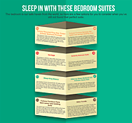 Sleep in with these bedroom suites