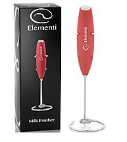 Elementi Milk Frother with Stand