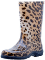 "Sloggers Women's Rain and Garden Boot with ""All-Day-Comfort"" Insole, Leopard Print - Wo's size 8 - Style 5006LE08"