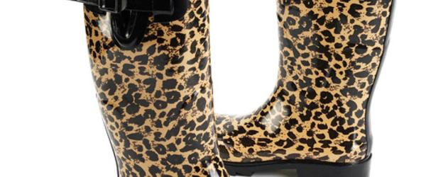 Headline for Leopard Print Rain Boots for Women 2014