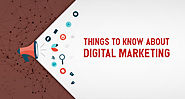 If you want to get updated on digital marketing then you must read these important things About Digital Marketing