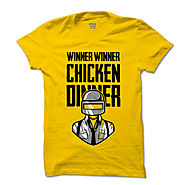 PUBG Chicken Dinner Winner T-Shirt