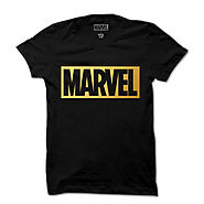Official Marvel Gold Finish T-Shirt