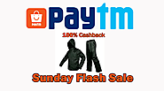 Get Loot Deal on Paytm Mall offer for Branded Raincoats