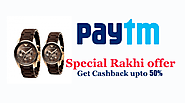 Get Paytm Loot on Special Rakhi Cashback Offer 2018