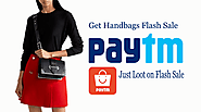 Get Paytm Loot Biggest Rakhi Flash offer sale on Handbags