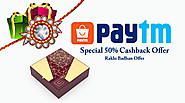 Get Paytm Loot on Rakhi Bandhan Best gift Cashback offer