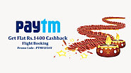 Get Loot of Paytm Diwali Cashback offer on Flight Booking