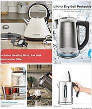 Top 10 Best Non Plastic Electric Water Kettles with Auto Shut-Off Reviews 2018-2019 on Flipboard
