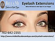 Eyelash Extensions – Bella Mi Salon & Nail Spa in Las Vegas