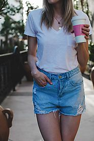 Best Classic White Tee Under $20 | Tea Cups & Tulips